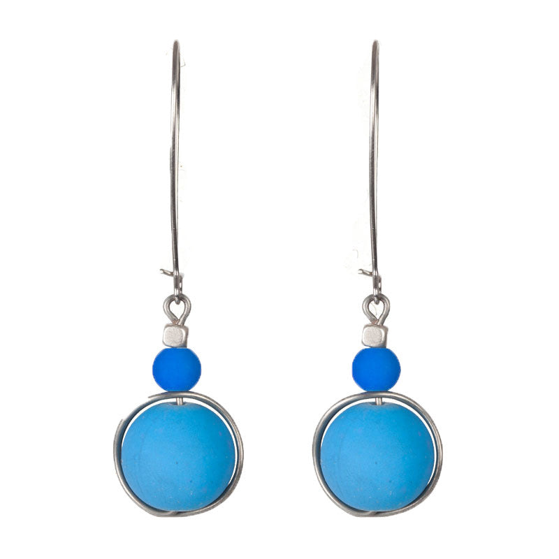 Bits and bobs earrings Blue