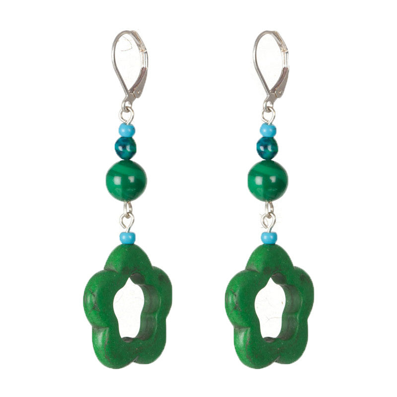 Chase rainbows earrings Green
