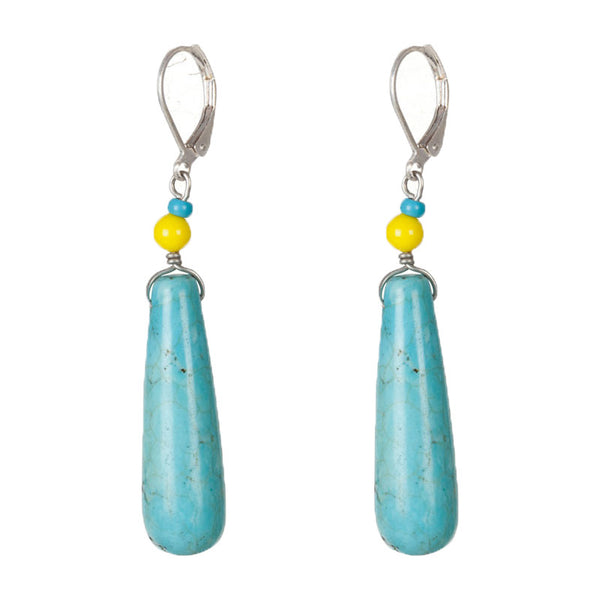 Law of the sea earrings Blue
