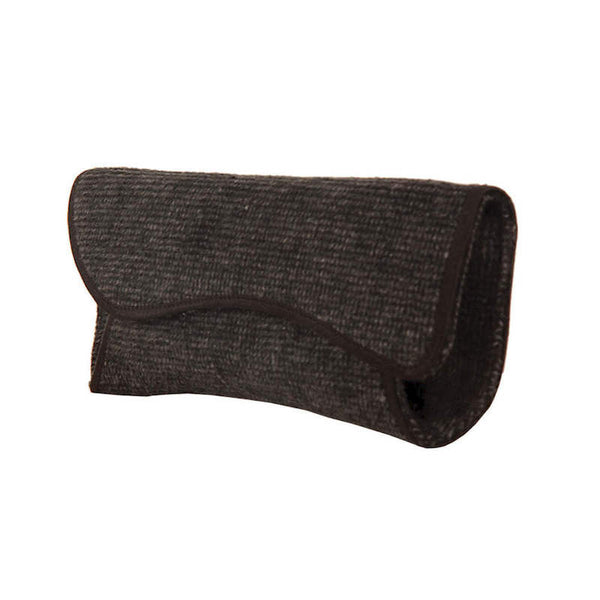 Fabulloso Women's Grey Wool Clutch