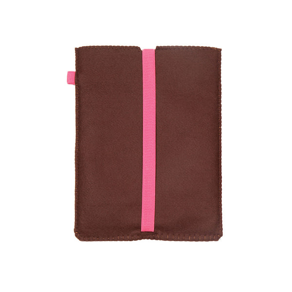 Chocolate bubble gum iPad sleeve