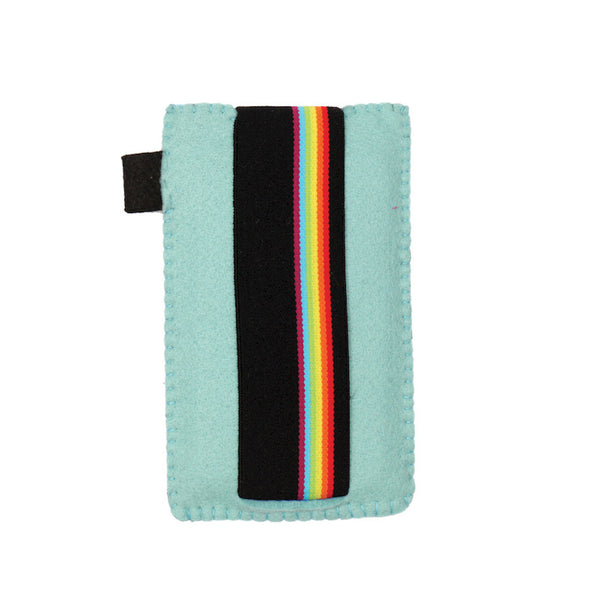 Rainbow rush smartphone case Blue