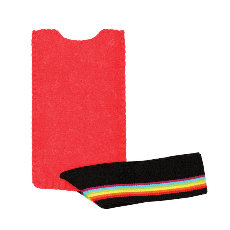 Rainbow rush smartphone case Red
