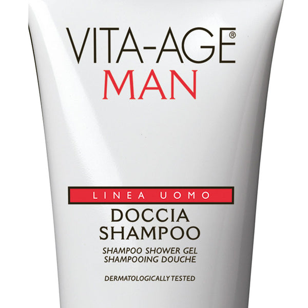 Vita Age Uomo Shampoo Shower Gel Regenerating