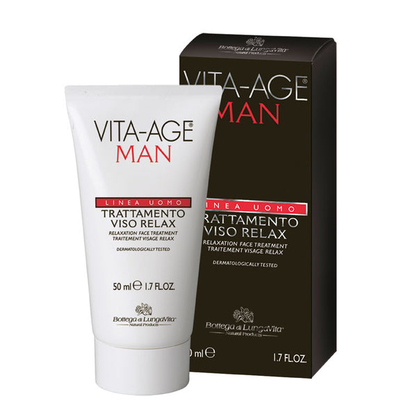 Vita Age Uomo Relaxation Face Treatment