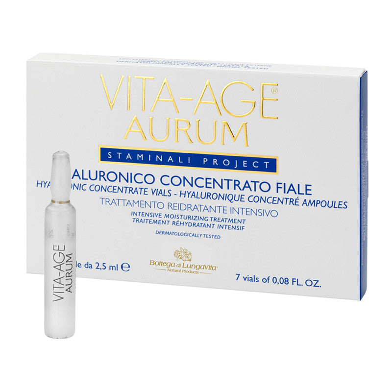 Vita Age Aurum Hyaluronic Concentrate Vials
