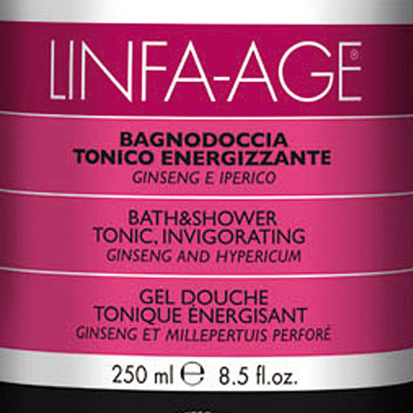 Linfa Age Energizing Bath and Shower Gel with Ginseng and St. John's Wort