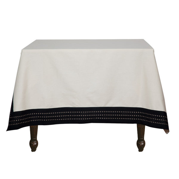 Fabulloso Black and White Table Cover
