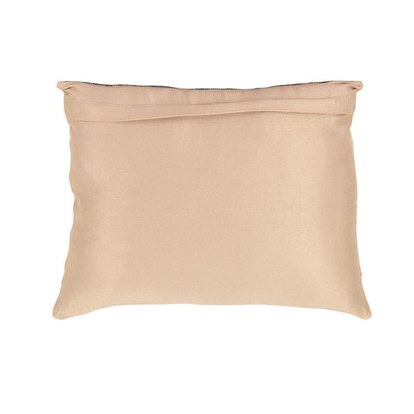 Fabulloso Spiral Embroidered Cushion Cover Beige
