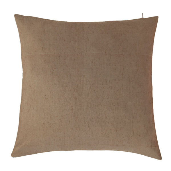 Fabulloso Striped Beige, White, Grey Cushion Cover