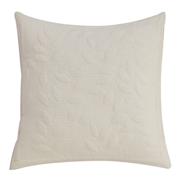 Fabulloso Cream Embossed Cushion Cover