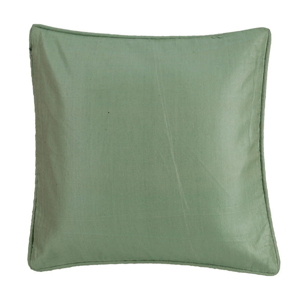 Fabulloso Poly Silk Mint Cushion Cover