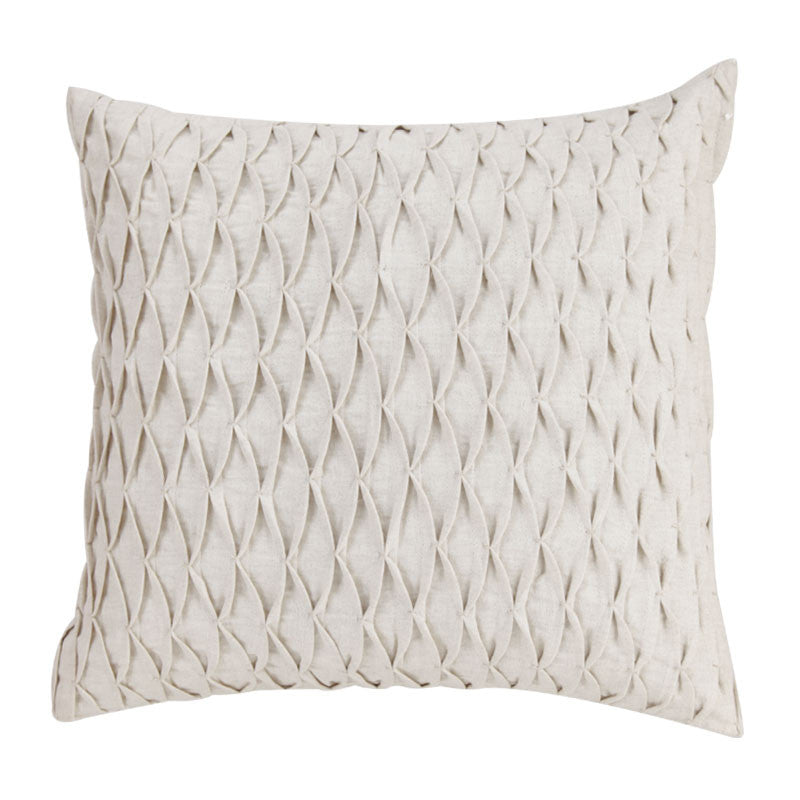 Fabulloso Off White Linen Cushion Cover