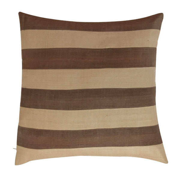 Fabulloso Chocolate and Beige Cushion Cover