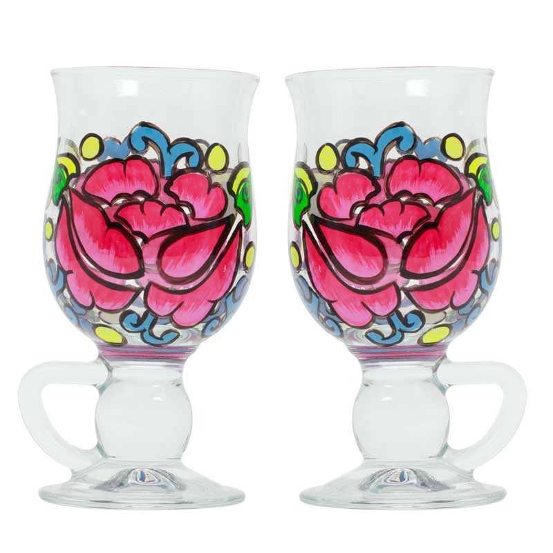 Miss Rosy coffee cup set
