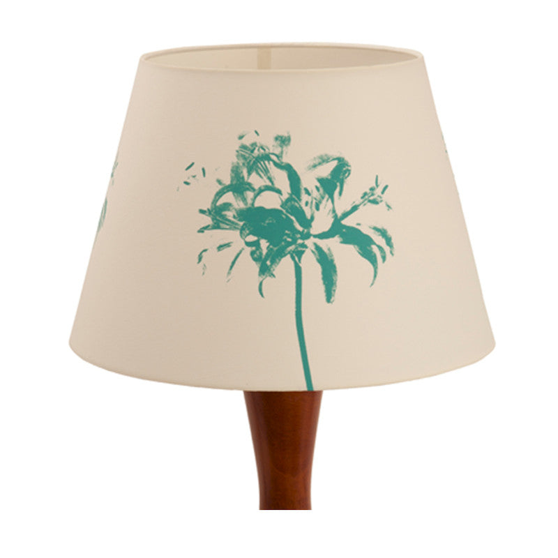 Floral splash lampshade Blue