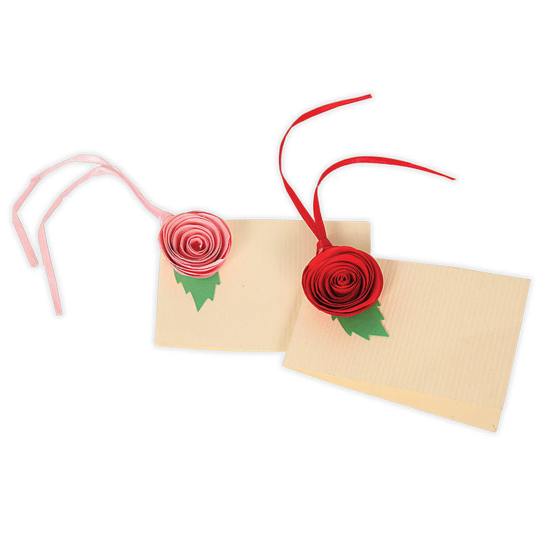 Morning glory gift tag set