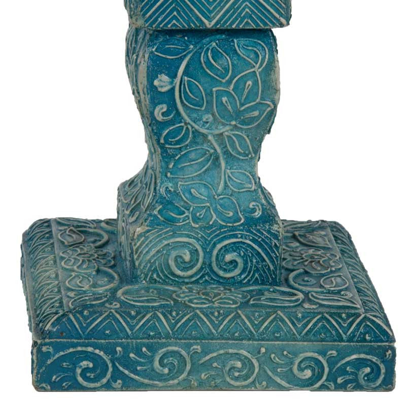 Haveli candle stand Blue