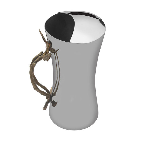 Bamboo Stainless Steel Dumbroo Jug