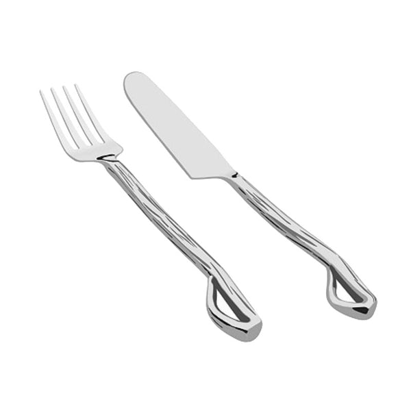 Branch Stainless Steel Cutlery - 24 Pcs