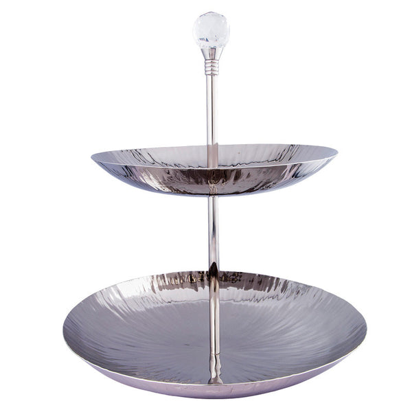 Stainless Steel Sun Bowl - 2 Tier