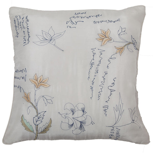 Abraham and Thakore Ivory whispers cushion cover