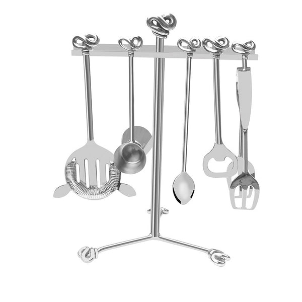 Double Knot Stainless Steel Bar Set