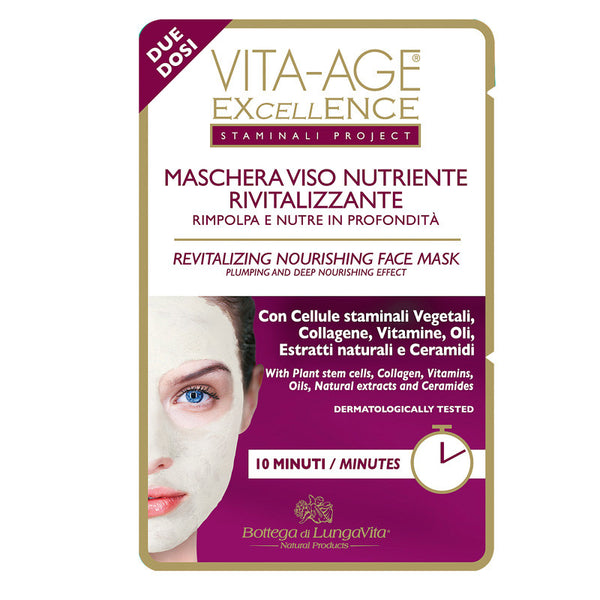 Vita-Age Excellence Revitalizing Nourishing Face Mask