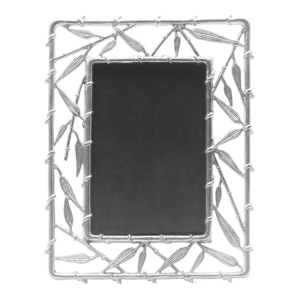 Bamboo Stainless Steel Rectangle Photo Frame
