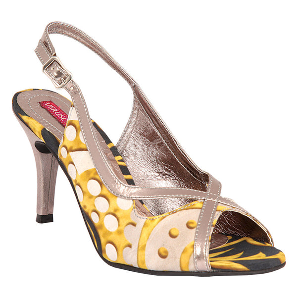 Fabulloso Casablanca Yellow Sandals