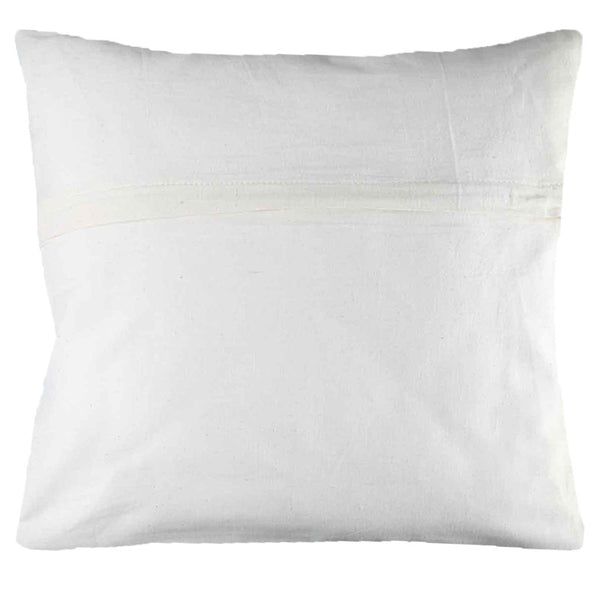 Leaf Designs Butterfly & White Flower Cushion Cover