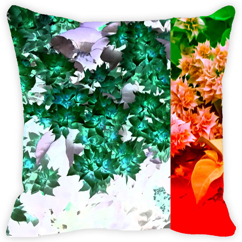 Leaf Designs Bougainvillea Cushion Cover