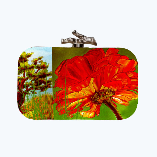 Fabulloso Tree Box Clutch