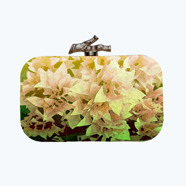 Fabulloso Bougainvillea Box Clutch