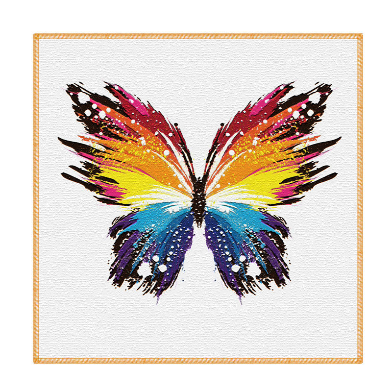 Leaf Designs Multicoloured Butterfly Coaster - Set Of 6