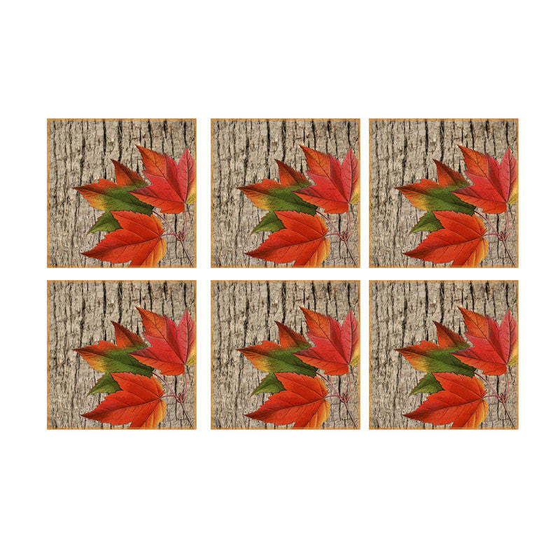 Leaf Designs Maple Leaf Coaster - Set Of 6