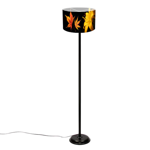 Leaf Designs Green Leaf Floor Lamp