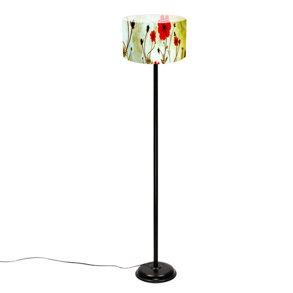 Leaf Designs Green Butterfly Floor Lamp