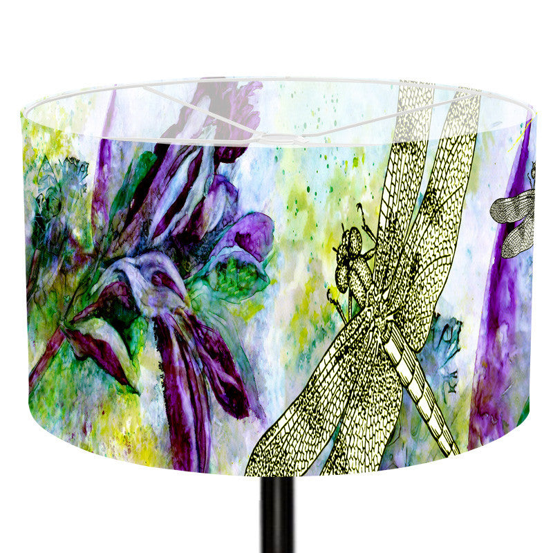 Leaf Designs Dragonfly Lamp Shade