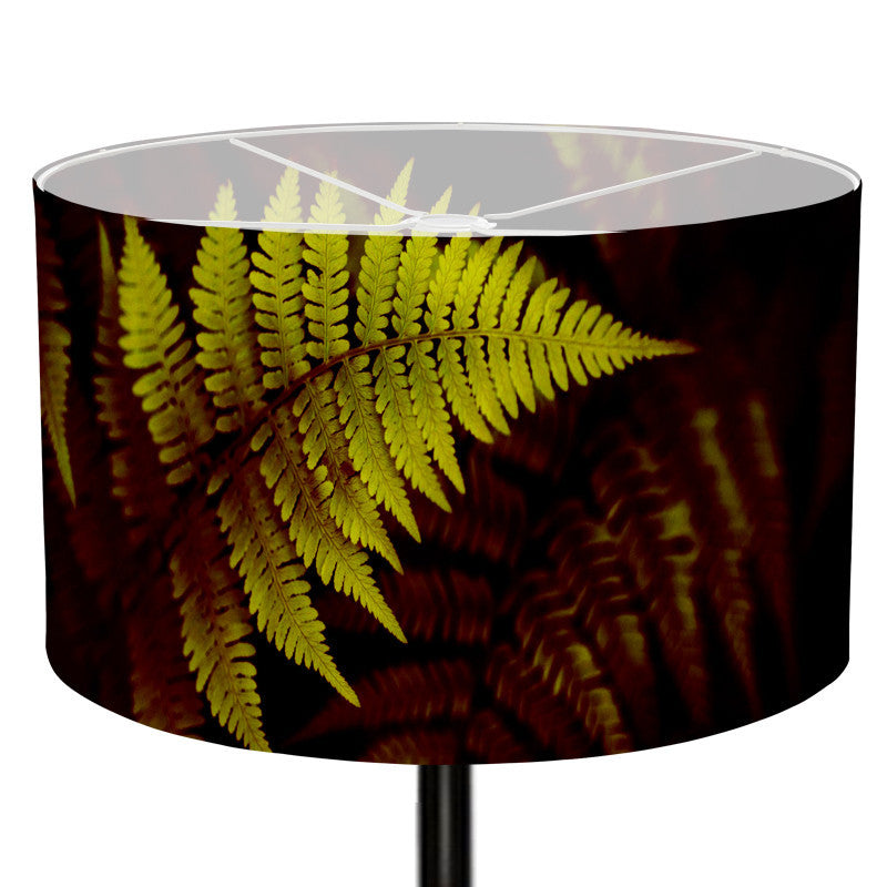 Leaf Designs Green Leaf Lamp Shade