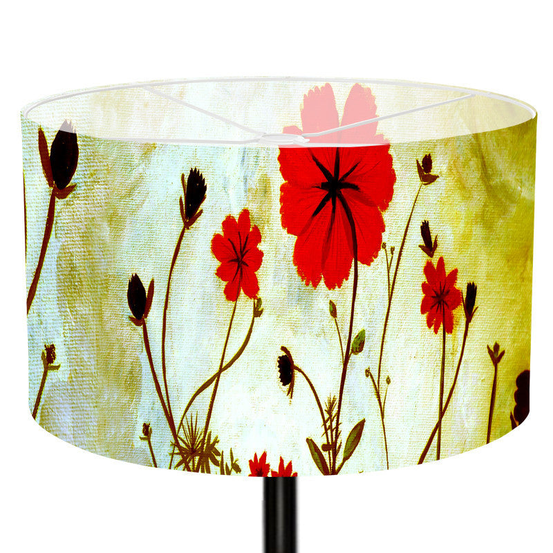 Leaf Designs Green Butterfly Lamp Shade