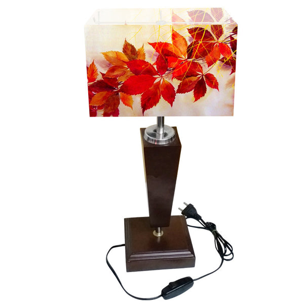 Leaf Designs Maple Table Lamp