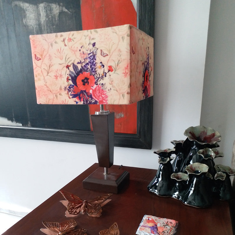 Leaf Designs Cycle Table Lamp