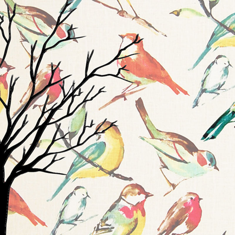 Leaf Designs Multi Bird Vintage Table Mats - Set Of 6