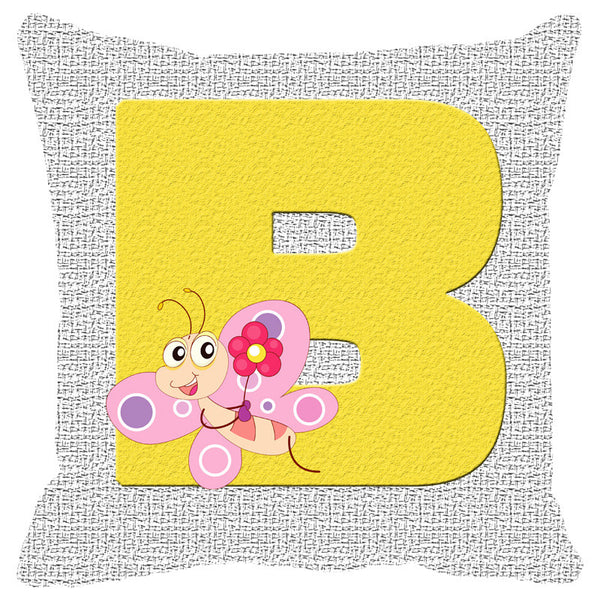 Leaf Designs Alphabet Cushion Cover B