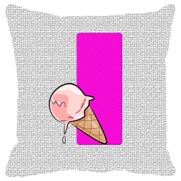 Leaf Designs Alphabet Cushion Cover I