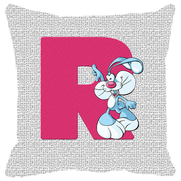 Leaf Designs Alphabet Cushion Cover R