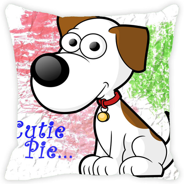 Leaf Designs Cutie Pie Cushion Cover