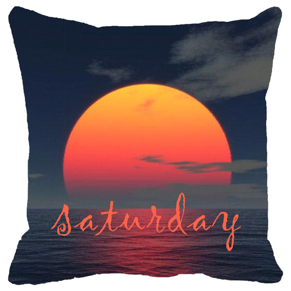 Leaf Designs Saturday Cushion Cover