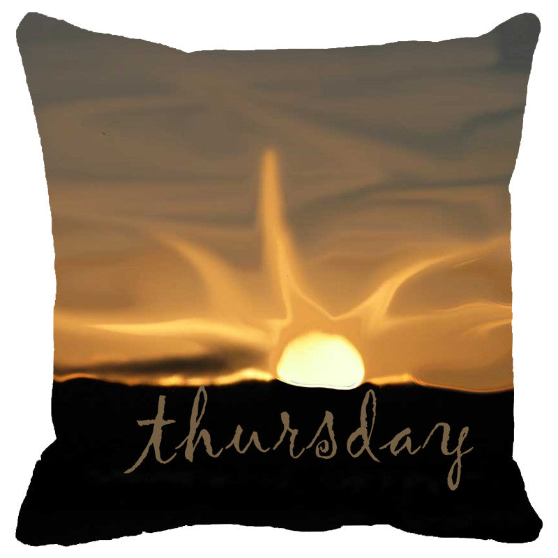 Leaf Designs Thursday Cushion Cover
